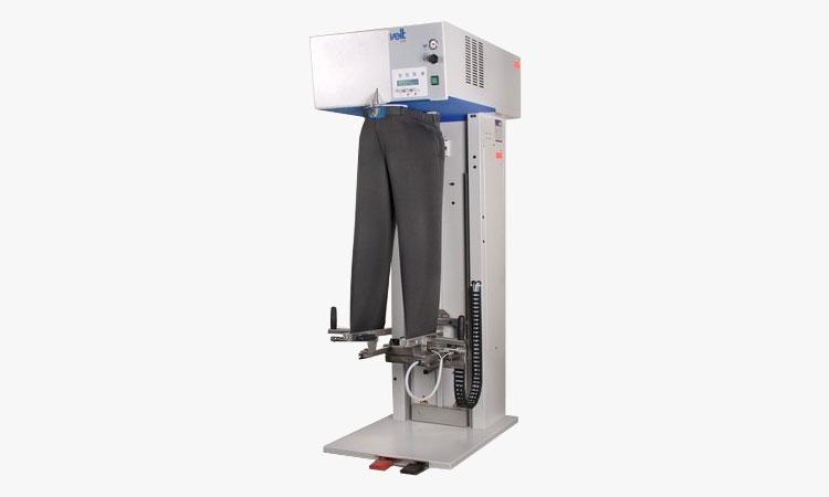 professional-waschereitechnik-buegeln-finishing-Hosen-Finisher-mit-eingebautem-Dampferzeuger-schulthess
